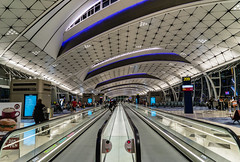 Mobilty first - Hongkong 56/188 (*Capture the Moment*) Tags: 2017 airport architecture architektur cheklapkok hongkong hongkonginternationalairport midfieldconcourse sonya7m2 sonya7mark2 sonya7ii sonyfe1635mmf4zaoss sonyfe41635 sonyilce7m2