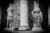 Merida, il teatro (rafpas82) Tags: merida busti statue spagna spain espana extremadura teatro teatroromano biancoenero blackandwhite colonna statues column romans romani nikond7000 nikon d7000 1770sigmacontemporary 1770sigma 1770 sigma1770 sigma spagnadascoprire