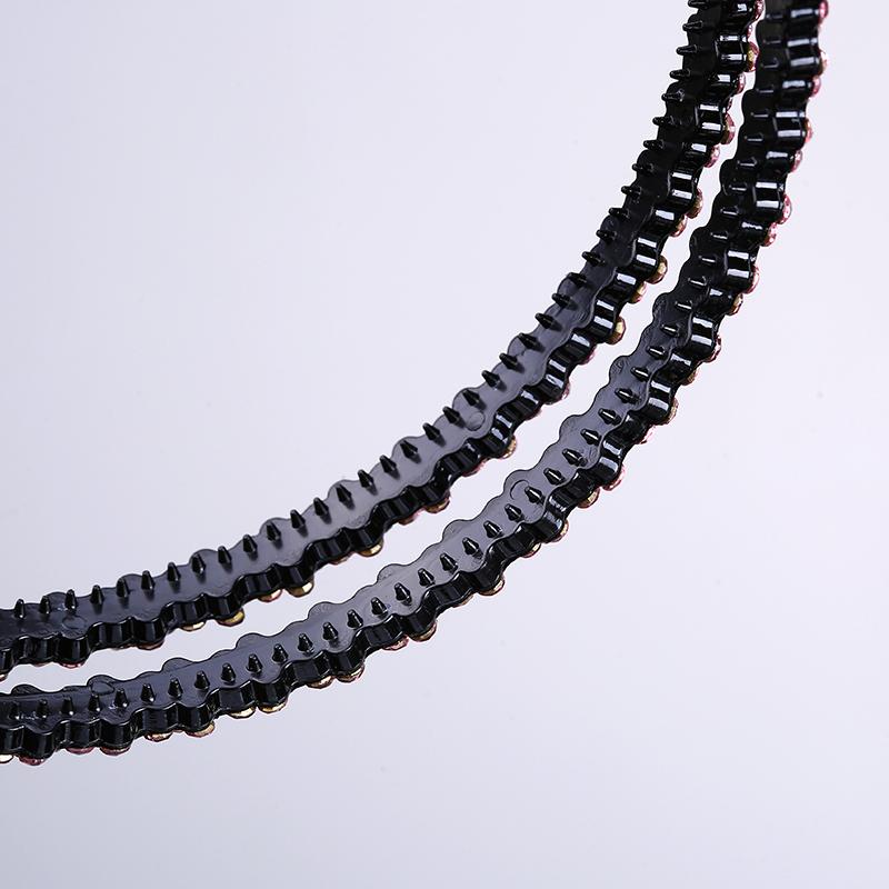 芭根 gras - minimalismus - Korea Crystal kartenausstellern double - layer zähne - haarnadel ein kopf - Frau kopfschmuck