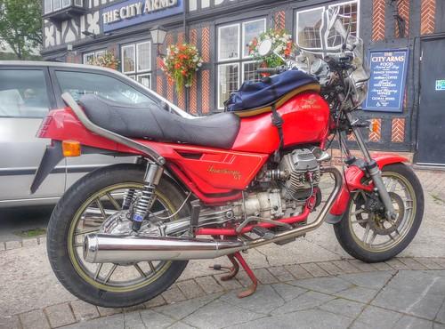 Moto Guzzi_The City Arms Pub_Earlsdon_Coventry_Aug17