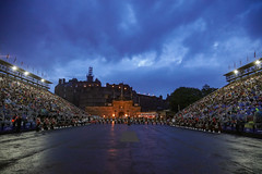Tattoo 2nd Visit-10 (Philip Gillespie) Tags: 2017 edinburgh international military tattoo splash tartan scotland city castle canon 5dsr crowds people boys girls men women dancing music display pipes bagpipes drums fireworks costumes color colour flags crowd lighting esplanade mass smoke steam ramparts young old cityscape night sky clouds yellow blue oarange purple red green lights guns helicopter band orchestra singers rain umbrella shadows army navy raf airmen sailors soldiers india france australia battle reflections japan fire flames celtic clans