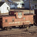 GM&O caboose in Bloomington, IL   3/5/77