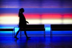 Illuminated (CoolMcFlash) Tags: light person walking silhouette illuminated nightlife night modern room studio fujifilm xt2 candid street streetphotography beleuchtet licht gehen motion blur bewegungsunschärfe kontur nachtleben nacht raum fotografie photography xf 35mm f 14 r frau woman