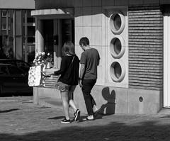 Heureux - Happy (p.franche - Thanks over 6 Millions vews - Merci po) Tags: woman frau 女子 여성 kvinde mujer nainen γυναίκα אישה امرأة nő wanita bean kona donna 女 kvinne kobieta mulher женщина kvinna žena หญิง đànbà vrouw couple dtreetshot snapshot skancheli monochrome noiretblanc blackandwhite zwartwit schaerbeek schaarbeek man homme architectory architecture