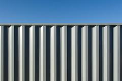 Grey shipping container (Jan van der Wolf) Tags: map163116v container shippingcontainer minimalism minimalistic minimalisme minimal minimlistic sky lines playoflines interplayoflines lijnen lijnenspel simple geometric geometrisch geometry geometrie