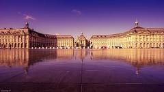 Bordeaux - 3683 (YᗩSᗰIᘉᗴ HᗴᘉS +8 000 000 thx❀) Tags: bordeaux miroirdeau placedelabourse france reflexion reflets réflection reflection europa europe travel hensyasmine water
