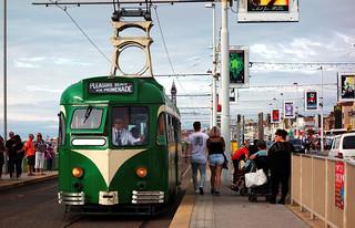 Hen dram Brush / Old Brush tram - Blackpool