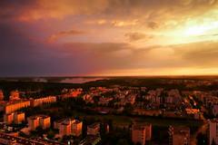 Stormy Sunset (timo_w2s) Tags: vuosaari helsinki finland sunset storm clouds cirrus