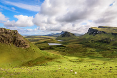The Quiraing (Rainer Albrecht) Tags: schottland isleofskye landschaft landscape scotland breath taking landscapes sky clouds mountains