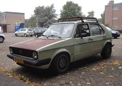VW Golf 1 GL 1.5 aut 6-12-1982 JH-10-FS (Fuego 81) Tags: volkswagen vw golf mk1 1982 jh10fs onk sidecode4 rat ratlook 40pttl