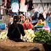 Man at Thong Khan Kham Market, Vientiane, Laos