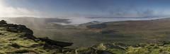 Morning Mists (l4ts) Tags: landscape derbyshire peakdistrict darkpeak stanageedge gritstoneedge gritstonetors hopevalley derwentvalley mist temperatureinversion heather moorland