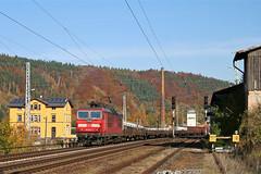 180 007 by René Große - Bf. Königstein  27.10.2005