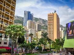 Monaco - From Grimaldi Forum (einaz80) Tags: grimaldi forum grimaldiforum monaco montecarlo monte carlo skyline skyscraper grattacielo panorama tour odeon odéon tourodeon tower principato principality lightzone