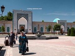 Al-Bukhari Mausoleum Near Samarkand, Uzbekistan (deemixx) Tags: uzbekistan mausoleum tomb albukharimausoleum islam