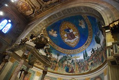 Altare e abside - Santa Croce in Gerusalemme - Roma