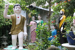 Statues at Phap Vo (ToGa Wanderings) Tags: scene garden people statues phapvo temple pagoda orphanage vietnam hochiminhcity asia religion buddhism