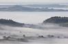 Isle of Avalon (Mukumbura) Tags: glastonbury tor hill mist fog autumn dawn morning sunrise somersetlevels deerleap priddy landscape scenery tranquil peaceful avalon trees hills