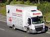 DAF LF - DOREE BONNER International Removals (scotrailm 63A) Tags: lorries trucks removals