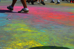 Holi Festival das Cores 2017 (Paola Papini Photography) Tags: holi festival holifestival holicolor color colors cor cores colour dust colordust red blue yellow pink paint pattern drawing dirty indian