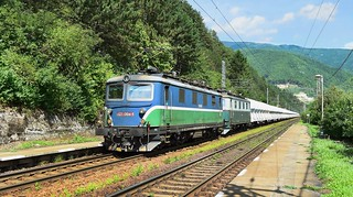 Class 121 locomotives_Freight Train_Sutovo, Slovakia_150817_01