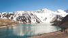 Embalse el Yeso (Marthaqr) Tags: chile embalse yeso outdoor blue white people trekking
