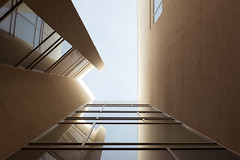 Enlightment (eljobso) Tags: fuji barcelona architecture building spain sky