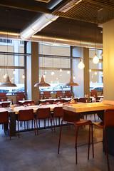 DSC_2407 (fdpdesign) Tags: pizzamaria pizzeria genova viacecchi foce italia italy design nikon d800 d200 furniture shopdesign industrial lampade arredo arredamento legno ferro abete tavoli sedie locali