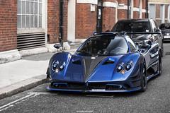 Batman was in Town (MonacoFreak) Tags: pagani zonda zondabymileson mileson zondaf f london summer supercar supercars