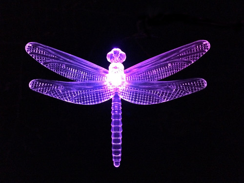 Dragonfly garden light