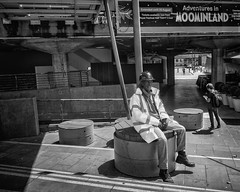 Taking a break from moominland (Karen Christina photography) Tags: southbank festivalhall london