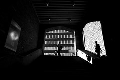 Up (maekke) Tags: zürich enge bahnhof sbb trainstation publictransport streetphotography bw noiretblanc canon eos6d 24mm shadow availablelight highcontrast 2017 ch switzerland
