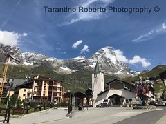 Breuil Cervinia e monte Cervino 4.478 mt (Roberto Tarantino EXPLORE THE MOUNTAINS!) Tags: breuil cervinia valle daosta cervino dent dhérens