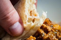 233:365 - Naan... (ASBO Allstar) Tags: asboallstar bread chickpea curry ledlight lamb macromondays naan project365 ringlight macro