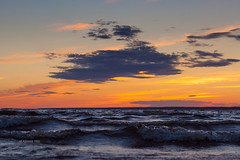 About Sea and Cloud (VladimirTro) Tags: россия санктпетербург russia russian saintpetersburg sky sunset colour cloud clouds canon eos europe dslr sea wave water waterscape landscape light nature outdoor photo photography