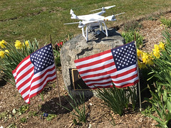 DJI Phantom Drohne und USA-Flaggen in Barnstable, USA (marcoverch) Tags: barnstable massachusetts usa us flag flagge veteran freedom freiheit patriotism patriotismus country land noperson keineperson administration verwaltung war krieg remembrance erinnerung military militär laurels lorbeeren unify vereinheitlichen democracy demokratie army armee national soil boden cemetery friedhof stripe streifen outdoors drausen banner dji phantom drohne usaflaggen animals pentax cathedral berlin india metal hair rural flickr