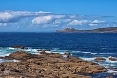 Cabo Vilán desde Punta da Barca, Muxía/Camariñas (A Coruña) (Miguelanxo57) Tags: rocas ría cabo cabovilán camariñas muxía acoruña galicia costadamorte costadelamuerte