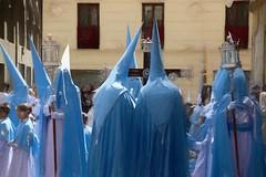 Semana Santa II-Granada (alanchanflor) Tags: semanasanta easter granada canon andalucia españa celeste cruz procesión urbana urban calle street fe faith faroles lanterns