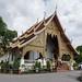 Viharn Luang en el complejo Wat Phra Singh, Chiang Mai, Tailandia