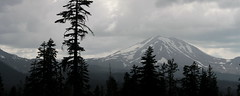 Lassen Peak panorama (rozoneill) Tags: lassen national park redding chico california hiking pacific crest trail backpacking volcanic wilderness cascades volcano peak