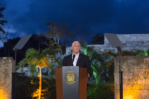 Vice President Pence in South and Centra by The White House, on Flickr