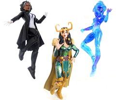 Marvel Legends A-Force set (Homicide_Crabs) Tags: aforce marvel legends loki singularity spectrum sdcc