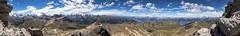 Becs de Bosson (3149m) - Almost 360 panorama (Unliving Sava) Tags: wallis rocdelatsa zinal rocdorzival montblanc dentdhérens grimentz becsdebosson switzerland valdanniviers montdurand matterhorn valais alpen bellalé dentblanche suisse summer wildhorn schweiz mountains zwitserland switzerland2017 hiking pointedelona cervin rhonevalley grandcornier obergabelhorn zinalrothorn alps ch