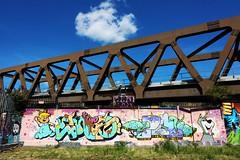 Spitalfields (NovemberAlex) Tags: colour clouds london urban spitalfields graffiti