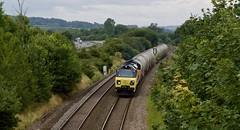 Roadtrain (Stapleton Road) Tags: class70 freight train railway locomotive