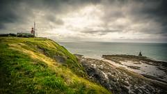 Phare de la Pointe du Roc (cbille) Tags: bokeh canonfd24mm14l wideopen vintagelens sonya7m2 granville catchycolors