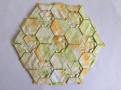 Knot tessellation - Wei Fu variation 3 back (Monika Hankova) Tags: origami tessellation wei fu paper