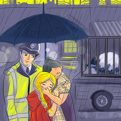 p12_wolf_caught_800x800 (SamSamDesign.com.hk) Tags: littlered little red ridding hood story bedtime children