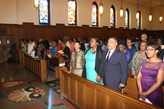 Hundreds attend Independence Church Service in Washington DC-Photos