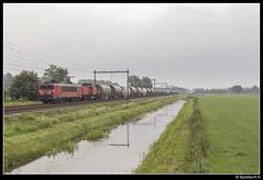DBC 1615 + 6412 - 47615 (Spoorpunt.nl) Tags: 2 augustus 2017 dbc db carog 1615 6412 dolime trein 47615 broekhuizen opzending